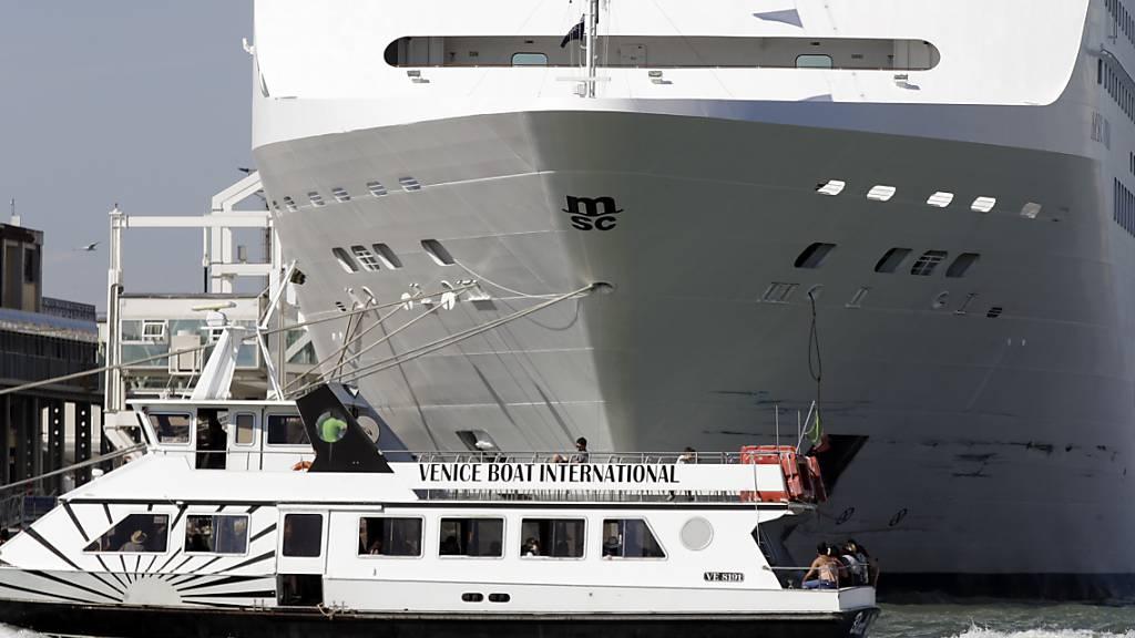Kreuzfahrtschiffe dürfen nicht mehr ins Zentrum von Venedig
