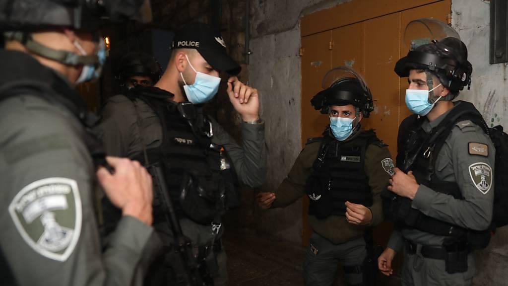 Palästinenser schiesst auf Polizisten - Täter erschossen