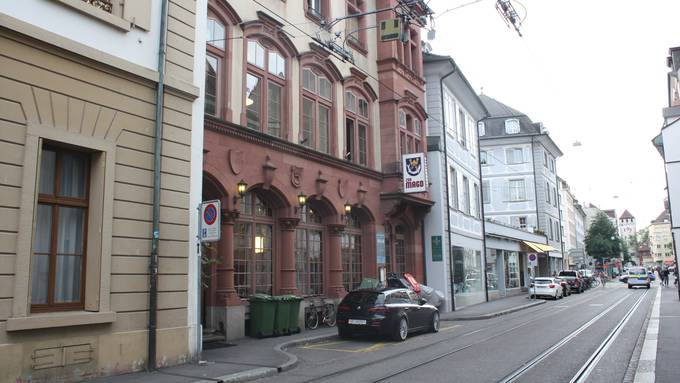 Die Liegenschaft der «Mägd» an der St. Johanns-Vorstadt ist auch Restaurant und Veranstaltungsraum in historischem Ambiente.