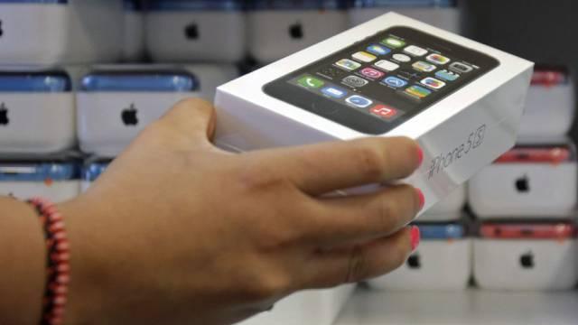 Gingen weg wie warme Weggli: iPhones versüssen Apple das Ergebnis