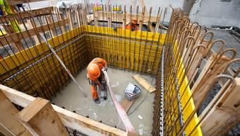 Besonders im Baugewerbe ist der Anteil von Temporärbeschäftigten gross.
