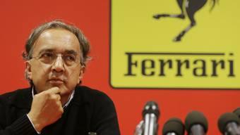 Hält künftig bei Ferrari die Zügel noch fester in der Hand: Sergio Marchionne. (Archiv)