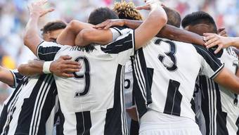 Juventus Turin steht nach drei Runden ohne Verlustpunkt an der Tabellenspitze
