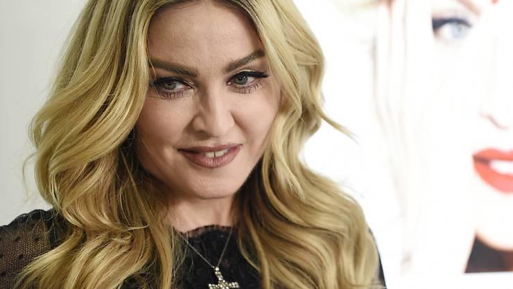 """Die 61-jährige Sängerin Madonna hat das erste von mehreren geplanten Konzerten ihrer """"Madame X""""-Tour in London aufgrund gesundheitlicher Probleme kurzfristig abgesagt. (Archivbild)"""