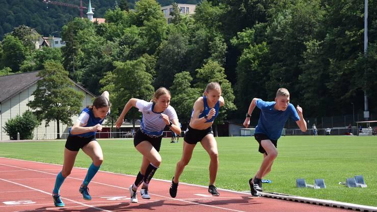 Die LäuferInnen über 600m