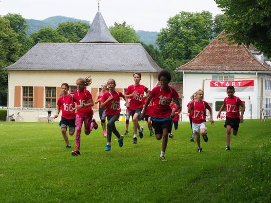 Im Einsatz am Kantonalen Jugendturnfest 2018 in Sissach.