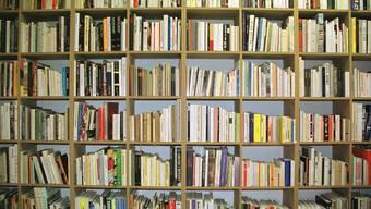 Eine Büchersammlung ist etwas Persönliches. (Archiv)