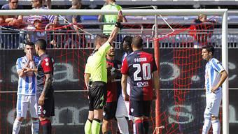 Sulley Muntari wird vom italienischen Verband für ein Spiel gesperrt.