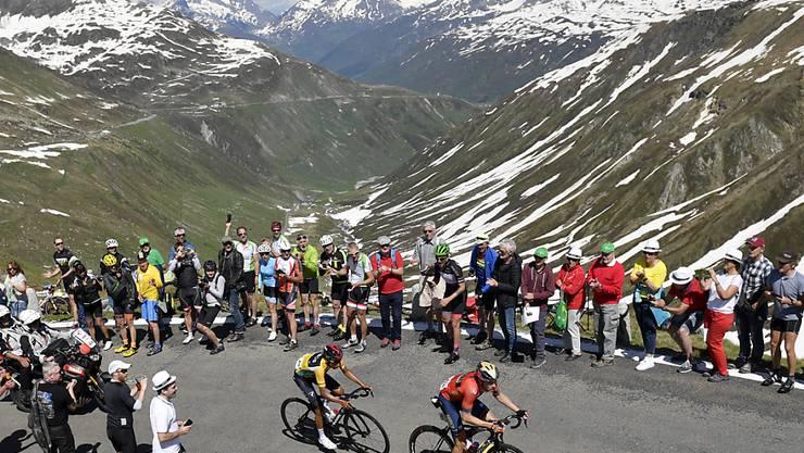 Die Tour de Suisse in luftiger Höhe: Ein solches Bild wird es dieses Jahr nicht zu sehen geben