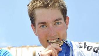 Mathias Flückiger holte im Cross Country die Goldmedaille (Archiv)