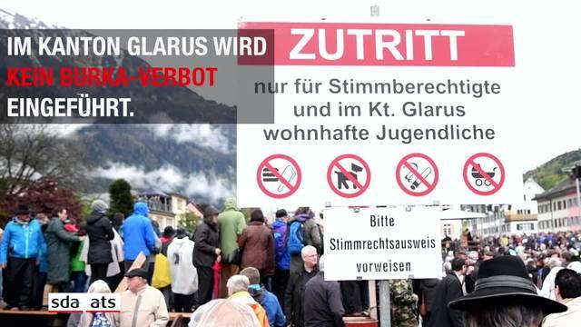 Kein Burka-Verbot im Kanton Glarus