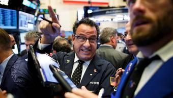 Die Börsenhändler freuen sich über die Wahl von Donald Trump zum Präsidenten.JUSTIN LANE/EPA/Keystone