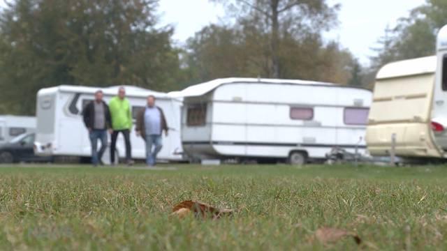 Durchbruch für Camping Gampel