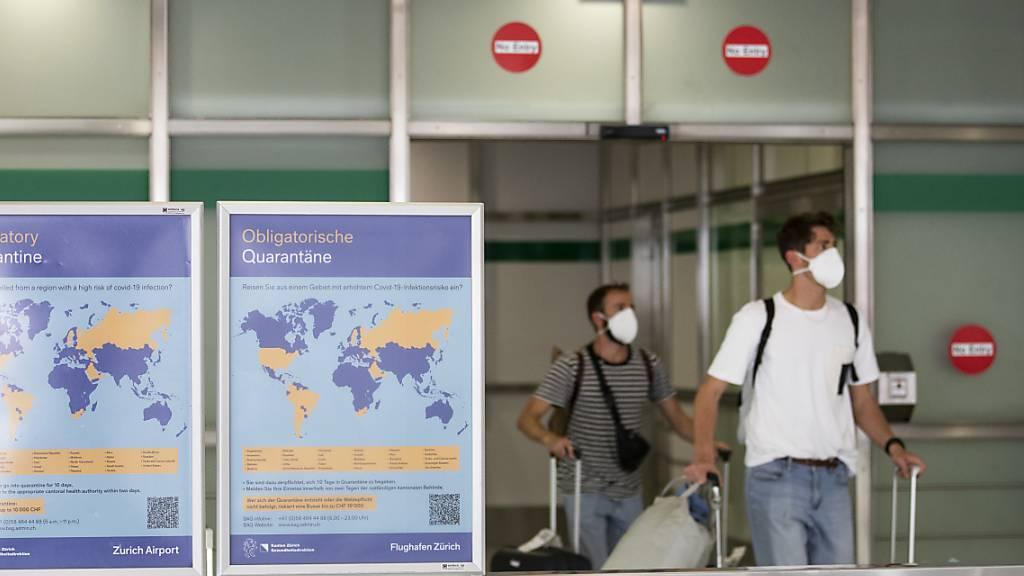Flughafen Genf: Maskenpflicht für Reisende am Dienstag
