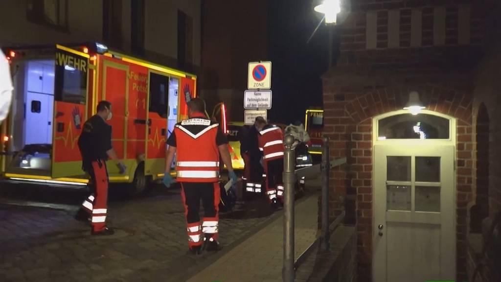 Gewalttat in Potsdam: vier Tote in Wohnheim gefunden