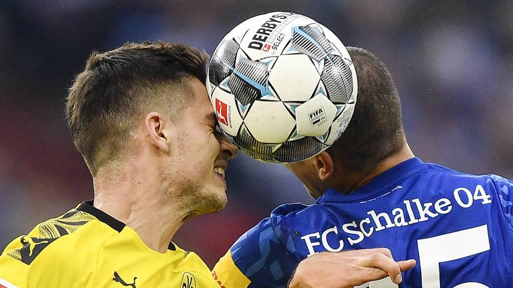 Dortmund demontiert Schalke gleich mit 4:0 zum Wiederbeginn