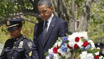 US-Präsident Obama gedenkt der Opfer der Terroranschläge vom 11. September 2001