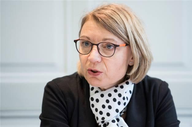2018: Yvonne Feri positioniert sich als Nachfolgerin von Ständerätin Pascale Bruderer, die an den nächsten Parlamentswahlen 2019 nicht mehr antritt.