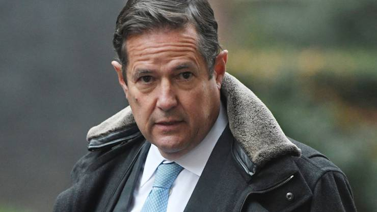 Umgerechnet 872'000 Franken Busse muss Barclays-Chef Jes Staley bezahlen.