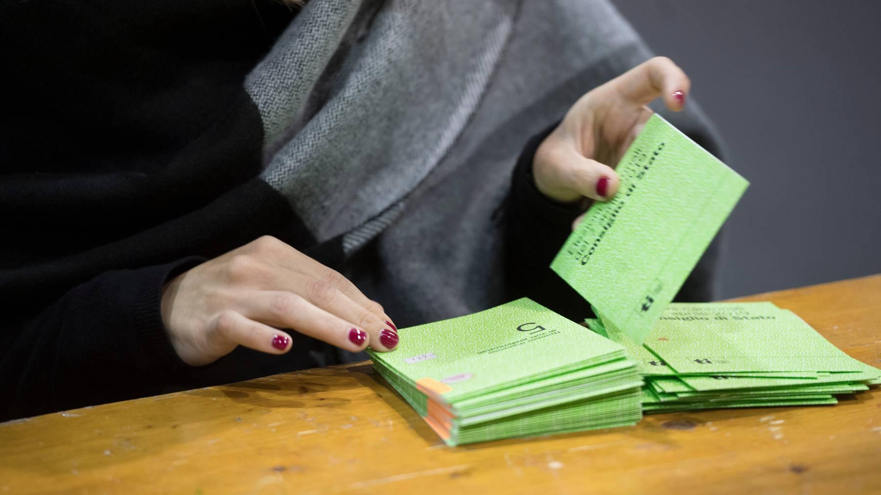 Die Tessiner Bevölkerung wird erst nächstes Jahr in den Gemeindewahlen abstimmen können. (Symbolbild)