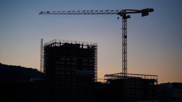 Noch nicht zu Ende: Der Bauboom geht weiter