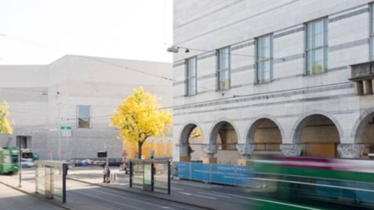Das erweiterte Kunstmuseum Basel, Stand Ende September 2015 (z.V.g.)