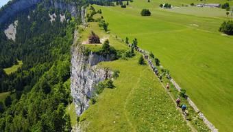 Leserwandern 2017, 3.Etappe: Grenchenberg in 3 Gruppen