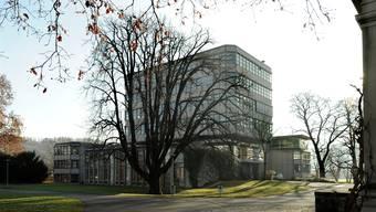 Das Gym Münchenstein soll einen Erweiterungs-Bau erhalten.