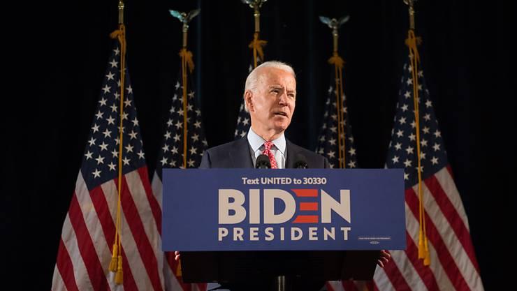 Der demokratische Präsidentschaftskandidat Joe Biden. (Archivbild)