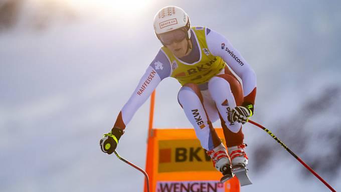 Ist in einer guten Ausgangslage nach der Abfahrt: Slalom-Spezialist Sandro Simonet.