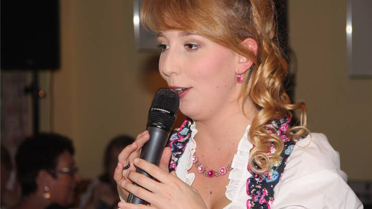 Michelle Ryser sang die Schlagerhits.