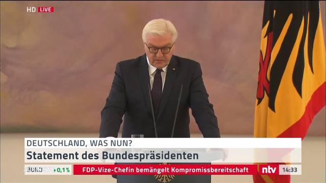 Deutschland vor politischem Scherbenhaufen