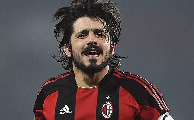 Beinharter Spieler mit Herz und lange Liebling der Fans bei der AC Milan.