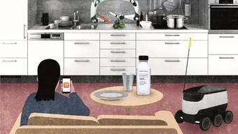 Es ist das einzig Analoge im Alltag der Tech-Visionäre. Jetzt soll auch das Essen digitalisiert werden.