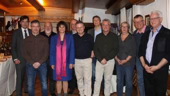 Von links: François Scheidegger, Markus Neuhaus, Urs Wirth, Clivia Wullimann, Renato Müller, Andreas Kummer, Jean-Pierre Thomsen, Aldo Bigolin, Irene Arni, Eric von Schulthess und Rolf Winzenried.