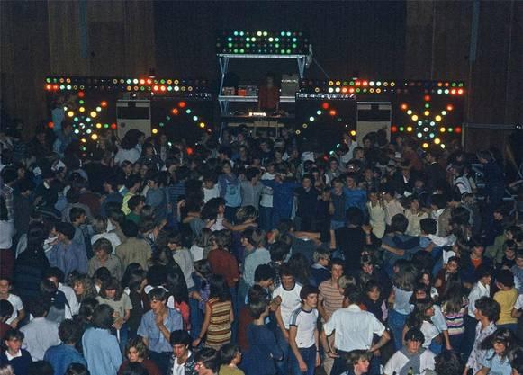 Das Partyvolk an einem der Disco-Abende.