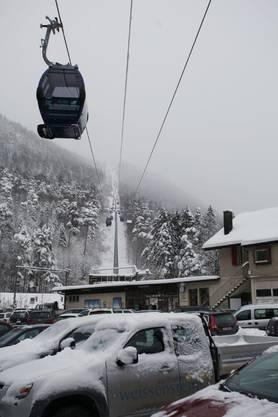 Erster Winter für die neuen Gondeli am Weissenstein.