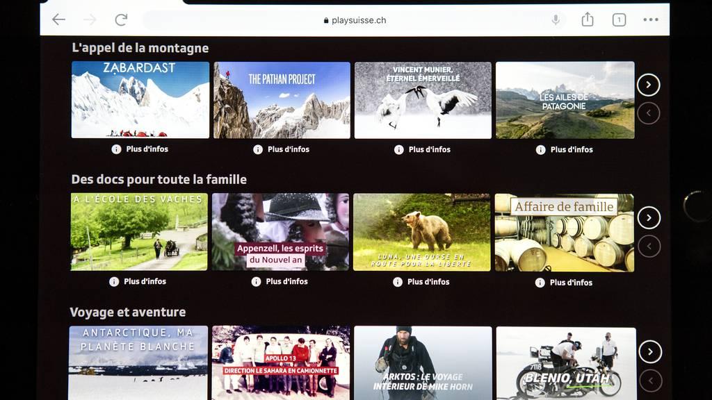 SRG-Streamingdienst «Play Suisse» läuft ab sofort auch für Swisscom-Kunden