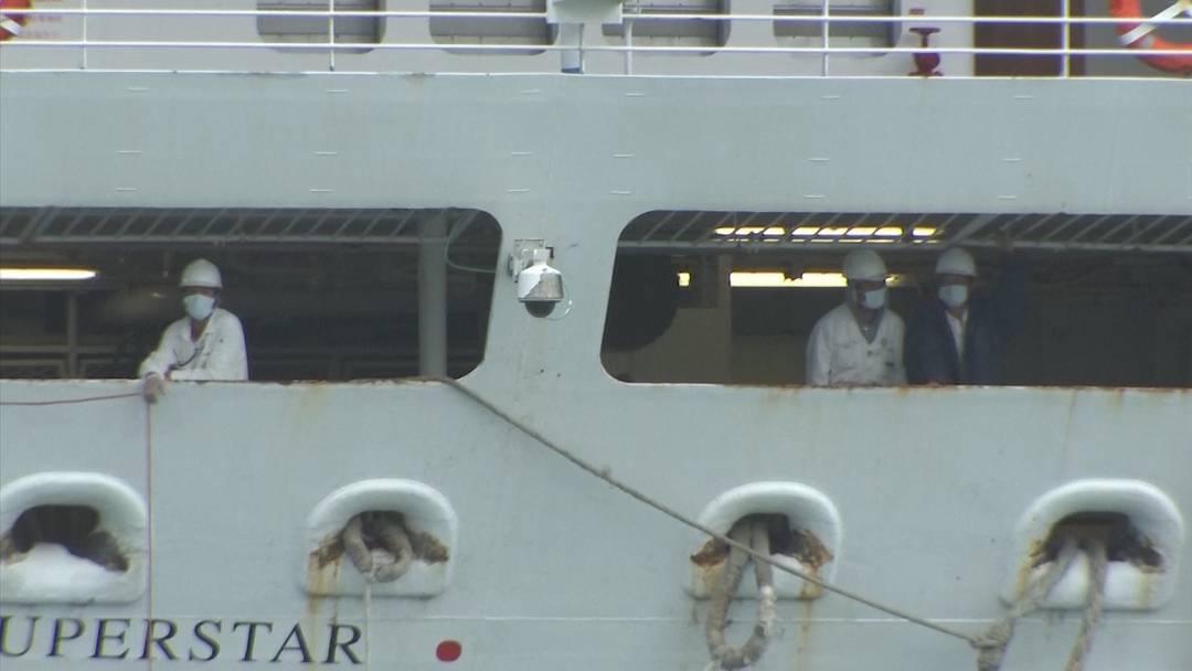 Coronavirus: Unsicherheit auf Kreuzfahrtschiffen