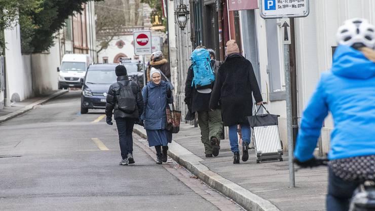 Am 10. Februar stimmen das Basler Stimmbolk über die Sanierung der St. Alban-Vorstadt abgestimmt.