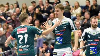Finnischer Abend beim SV Wiler Ersigen: Drei der sechs Tore gingen auf das Konto des Duos Tatu Väänänen und Miro Lehtinen.