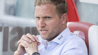 Marc Schneider steht mit dem FC Thun mit dem Rücken zur Wand