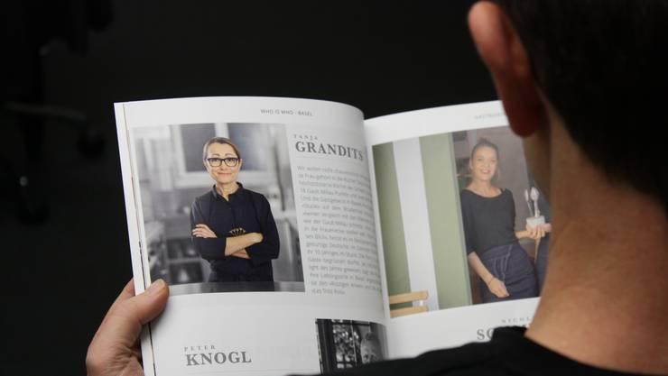 In der diesjährigen Ausgabe von «Who is Who» gibt es viele bekannte Gesichter, darunter Spitzenköchin Tanja Grandits.
