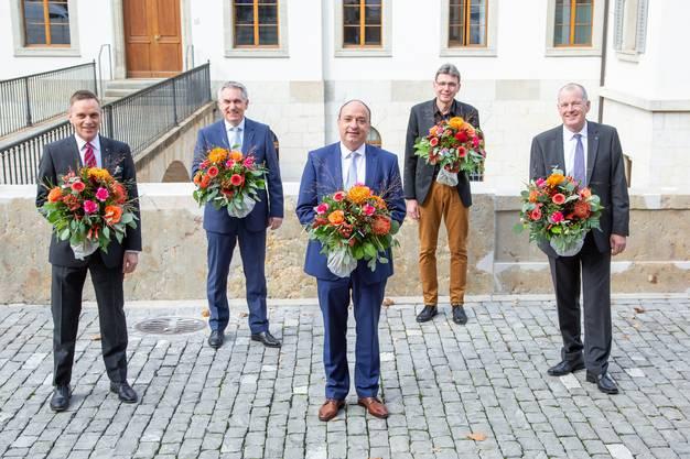 Der Aargauer Regierungsrat.