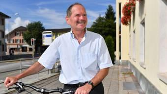 Beat Frey ist noch bis zum 20. August als Gemeindepräsident von Wangen in Amt und Würde.