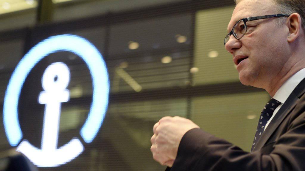 Detlef Trefzger, CEO von Kühne+Nagel, konnte die Profitabilität verbessern. (Archiv).