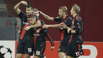 Der Schweizer Eren Derdiyok Torschütze für Leverkusen