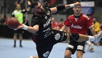 Können Martin Slaninka und seine HSC-Teamkollegen die Ungeschlagenheit in der Schachenhalle auch gegen St. Otmar St. Gallen wahren?