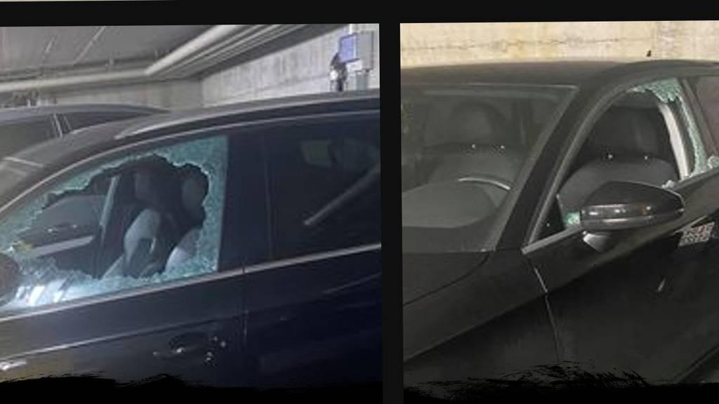 Unbekannte schlagen in Emmen Autoscheiben ein und stehlen Bargeld