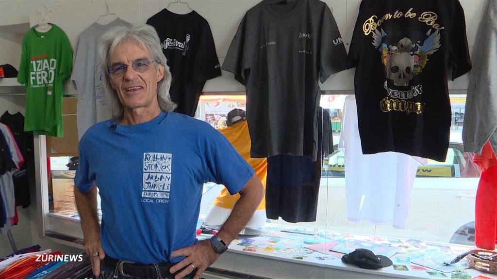 Vom Stage-Manager zum Shirt-Verkäufer
